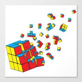 Rubixplosion Canvas Print