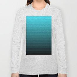 Depth Gradient Long Sleeve T-shirt