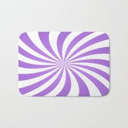 Lavender twirl pattern Bath Mat