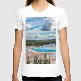 Yellowstone Blue Lagoon T-shirt