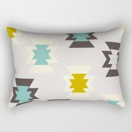 Cool retro shapes Rectangular Pillow