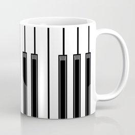 Ebony & Ivory Coffee Mug