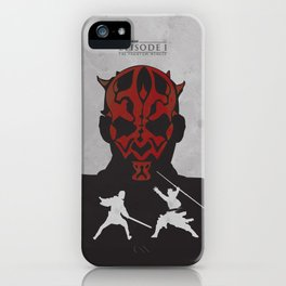 The Phantom Menace iPhone Case