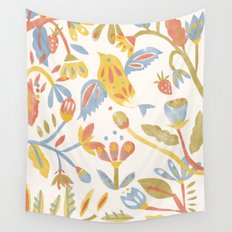 Birds Paradise Wall Tapestry