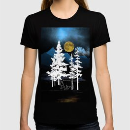 Full Moon Rising II T-shirt