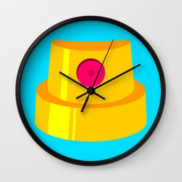 Fat Cap Wall Clock