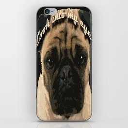 Pug is your passion and love.  iPhone Skin