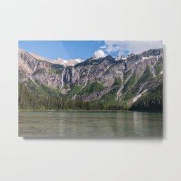 Glacier National Park - Avalanche Lake Metal Print