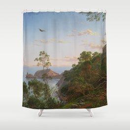 Tea Trees near Cape Schanck, Victoria Shower Curtain