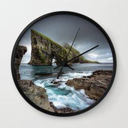 Drangarnir Arch Wall Clock