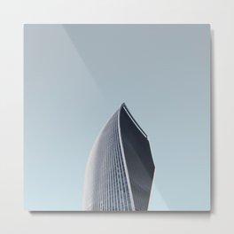 LND CLR X-8 London Colour Architecture Art Metal Print