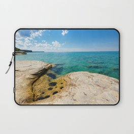 The Coves on Lake Superior - Pictured Rocks Laptop Sleeve