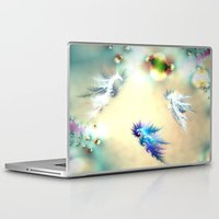 nursery Laptop & iPad Skins featuring Seahorse Nursery by Shalisa Photography