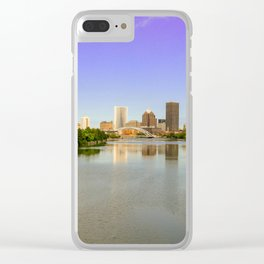 Rochester New York Panorama Clear iPhone Case