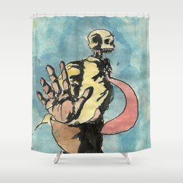 No pictures, please. Shower Curtain