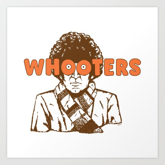 Whooters Art Print