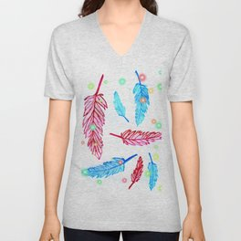 Light as a feather Unisex V-Neck