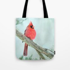 Elegant Cardinal Tote Bag