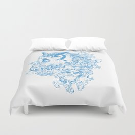 THE OBSCURE OWL Duvet Cover