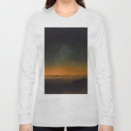 Smyth - The Great Comet of 1843 Sunset Magical Stars Long Sleeve T-shirt