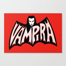 Vampira! Canvas Print