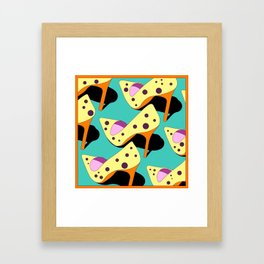 'colourful' highheel  Framed Art Print
