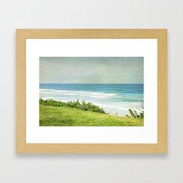 To the West - California Coast Framed Art Print