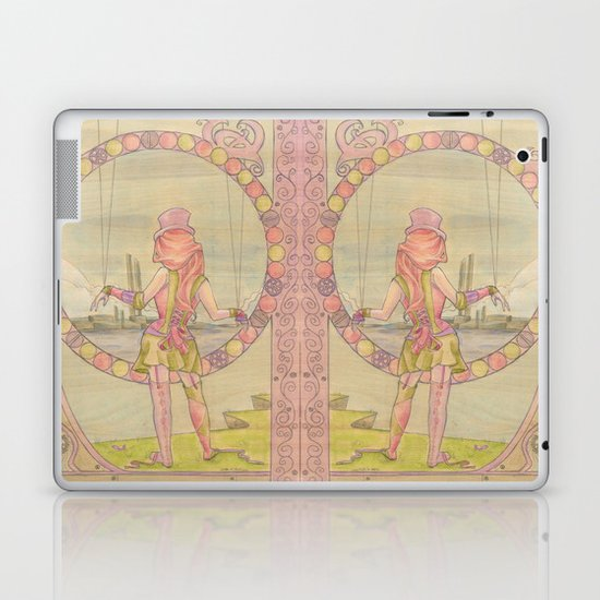 Steampunk Marionette Laptop & iPad Skin
