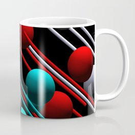 balls and 3 colors Coffee Mug