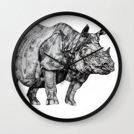 Rhino I Wall Clock