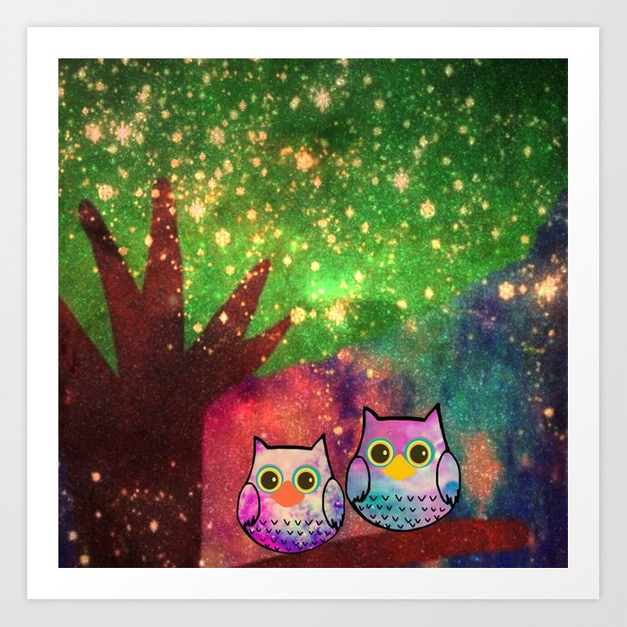 owl-143 Art Print
