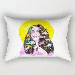 Kozmic Blues Rectangular Pillow