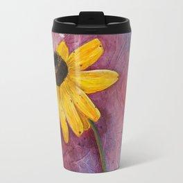 Bending towards the Sun Travel Mug