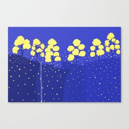 circle tree Canvas Print