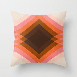 Neopolitan Stack Throw Pillow