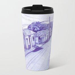 Drawin a Barriohood (Prints, Digital,Inkpen) Travel Mug