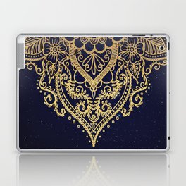 MANDALA IN STARRY NIGHT Laptop & iPad Skin