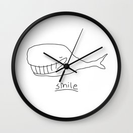 Cheshire Whale Wall Clock