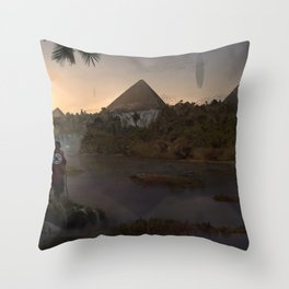 12.000 years ago Throw Pillow