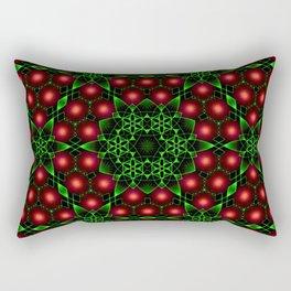 Christmas Patterns Rectangular Pillow