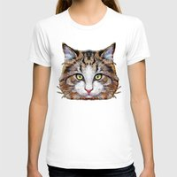 meow T-shirts featuring MEOW by Ancello