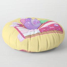 Berry Kitty Cake Floor Pillow