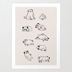 More Sleep Art Print