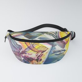 Winged Sound Fanny Pack