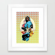 Looking for J Framed Art Print