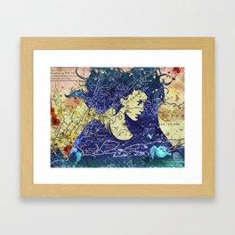 Lady of the Lake. Framed Art Print