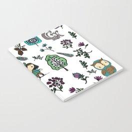 Forest Friends Notebook