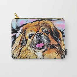 Pekingese Cartoon photo Carry-All Pouch