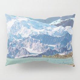 Blue Cosmos Pillow Sham
