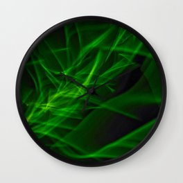 Glowstick Light painting Wall Clock